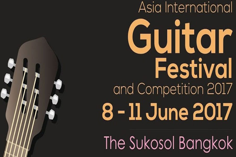 The Thailand Guitar Society in association with the Conservatory of Music
