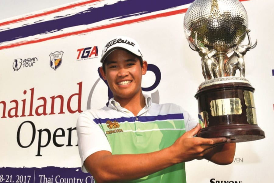 The Thailand Open 2017 Rejoining the Asian Tour