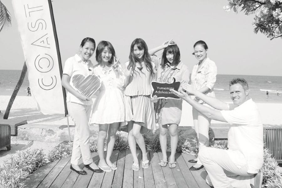 "The ""Yumemiru Adolescence"" Spotting at Centara Grand Beach Resort &Villas Hua Hin"