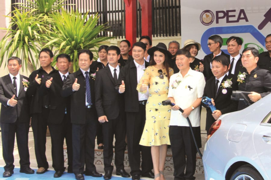 Electrical Car Recharging Stations Now Open in Hua Hin