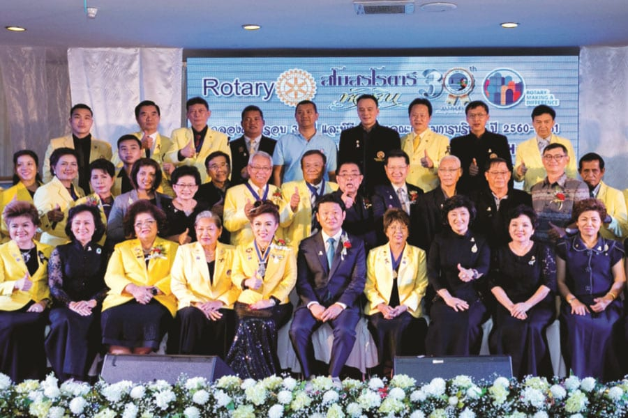 Rotary Club of Hua Hin 30th Anniversary and Installation Night