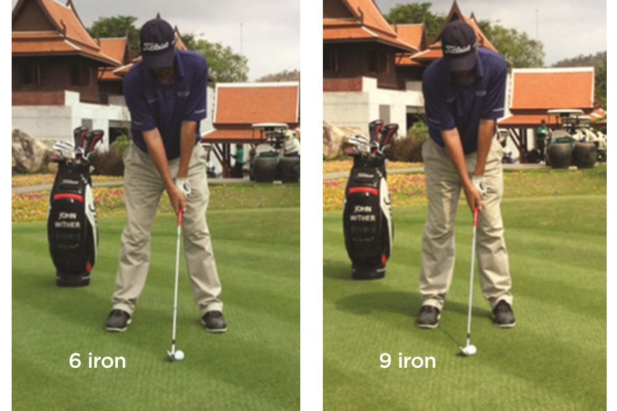 Golf Tip Choose your Stance for the Club