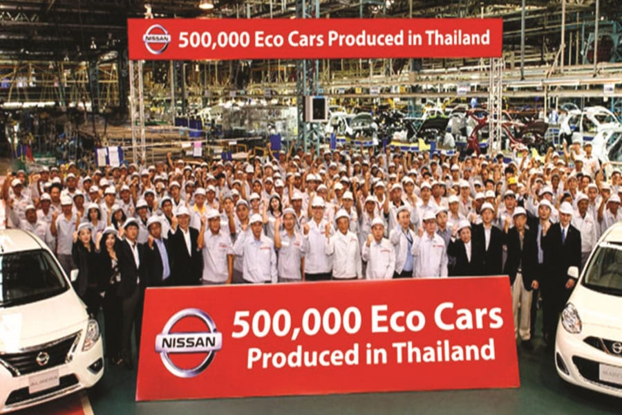 Thailand's Eco-Cars