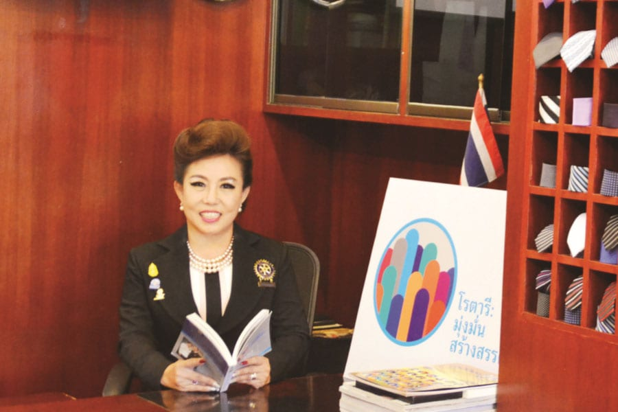 The Rotary Club of Hua Hin's New President Continues to 'Make a Difference'
