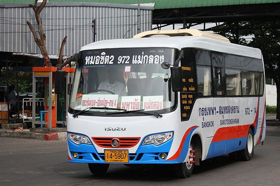 New Mini Buses on Trial Run to Provinces