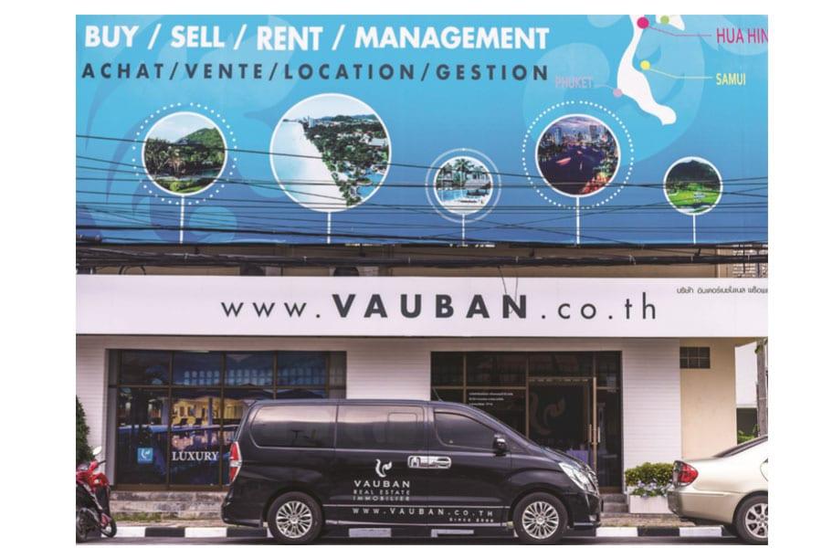 Vauban Company agency in Hua Hin