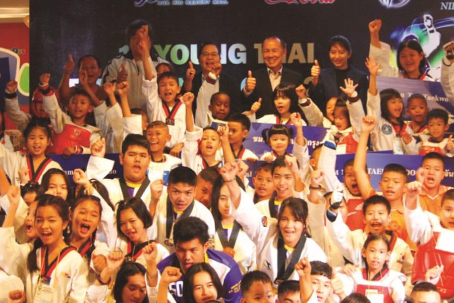 1st Young Thai Taekwondo Cup 2017