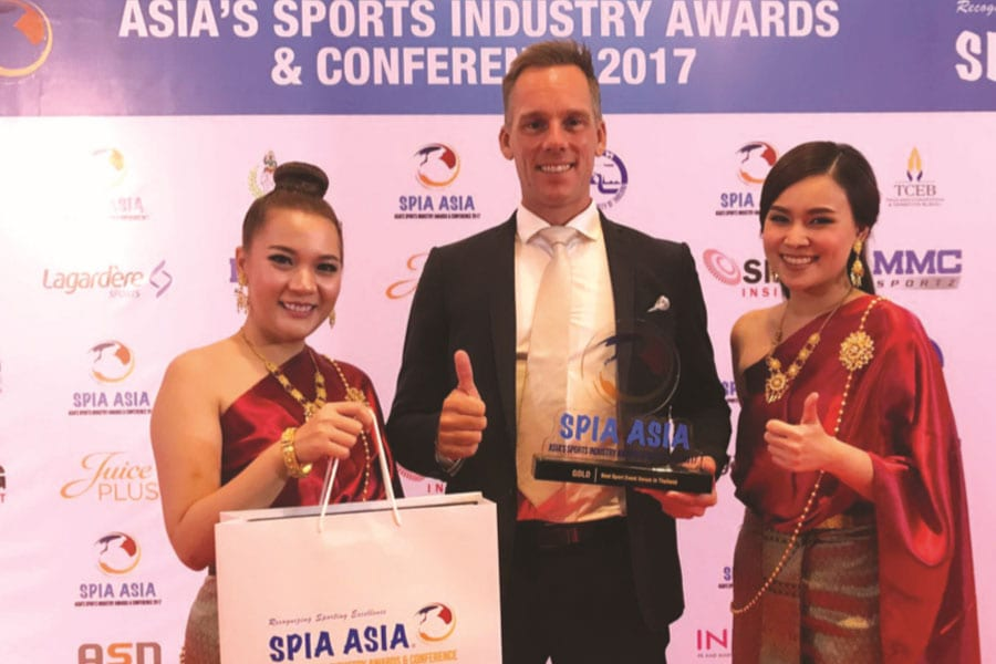 Black Mountain Awarded Best Sport Event Venue in Thailand 2017