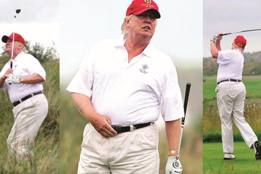 Donald Trump the Golfer; the US President Really Can Play