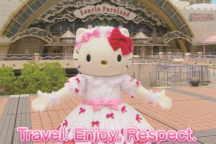 Hello Kitty is the New Whiskered Face of United Nations Tourism