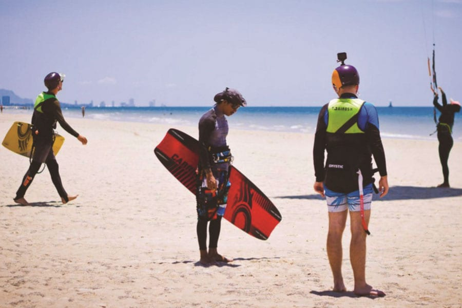 Kiteboarding in Hua Hin 'Enjoying Life on a Windy Beach'