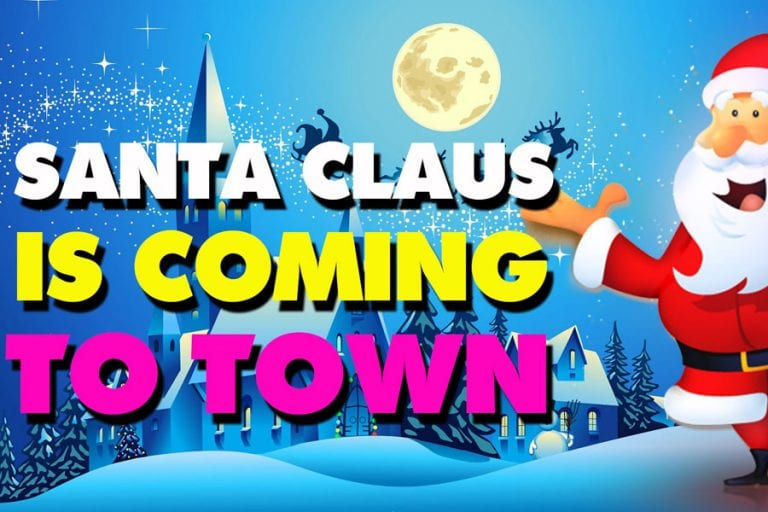 Santa claus is coming to town movie poster