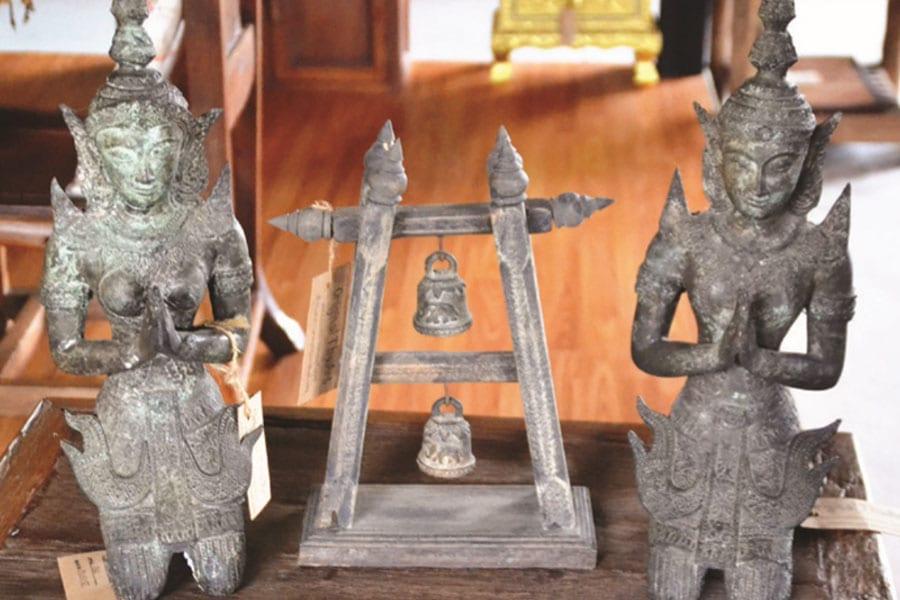 A Trove of Thai Treasures at Hua Hin Home Art