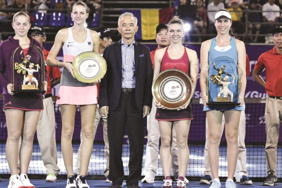 World Tennis Stars Grace True Arena Hua Hin