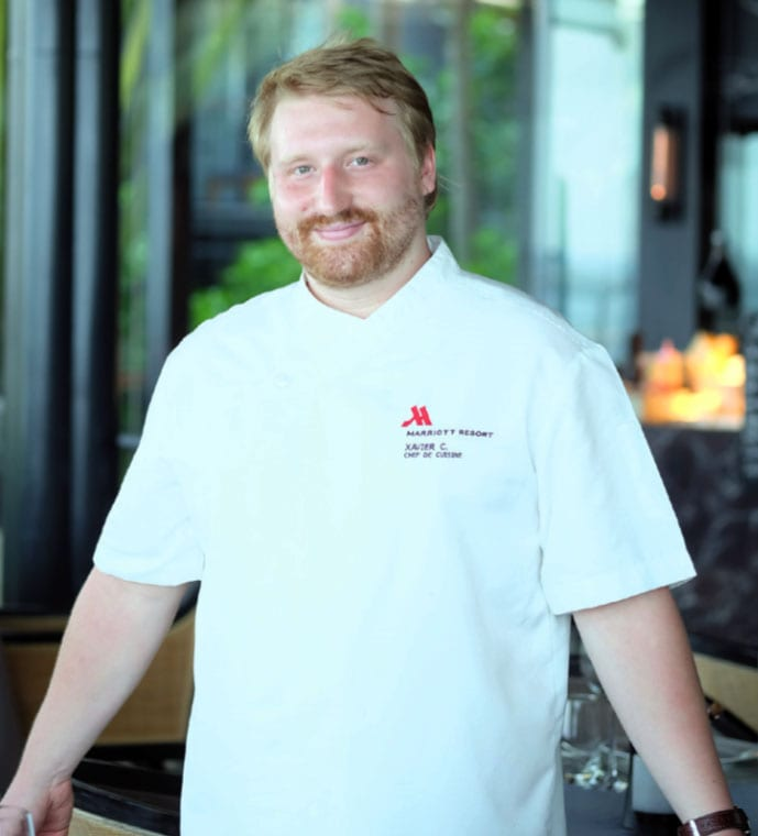 Exciting Young Head Chef Xavier Charest-Réhel Launches Modern Menu at Big Fish & Bar