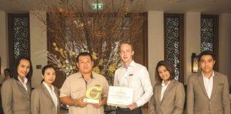 Intercontinental Hua Hin Resort Receives A Green Hotel Award 2017