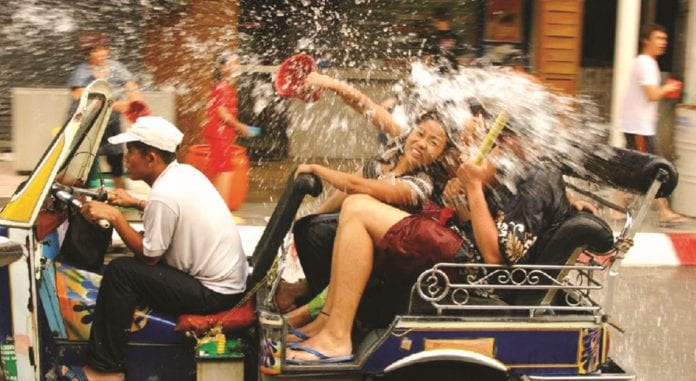 Songkran 2018: If You Can't Stay Dry; At Least Stay Safe!