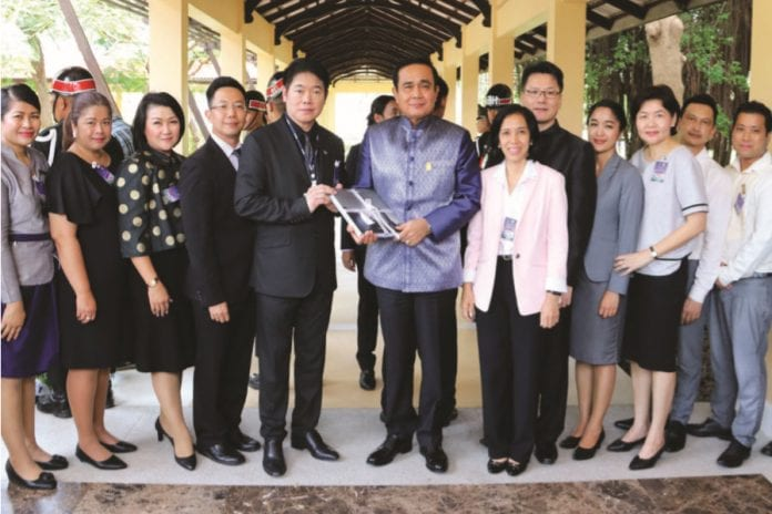 Dusit Thani Hua Hin Warmly Welcomes the Prime Minister