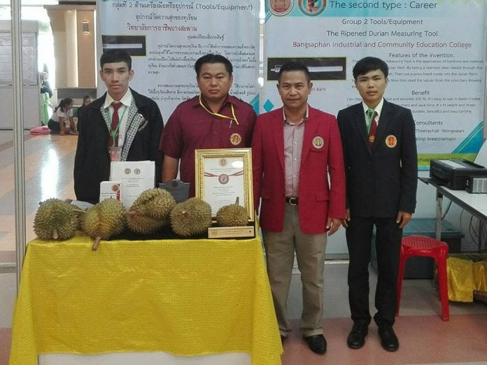 Local Students Take on the Durian Ripeness Test