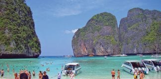 Maya Beach Close as Tourism Takes its Toll