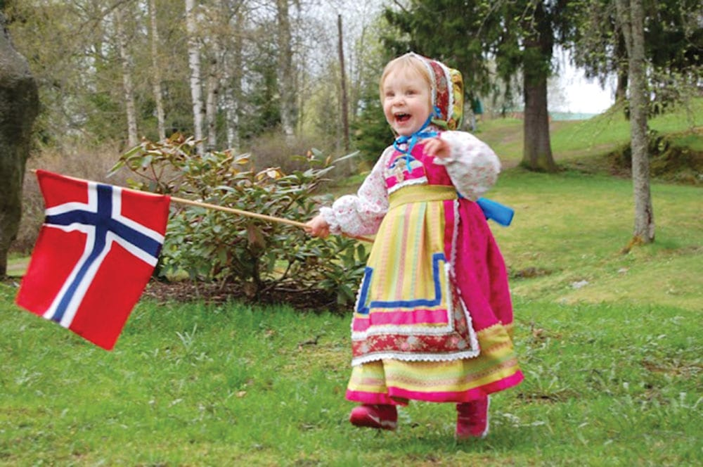 May 17th Norway Constitution Day
