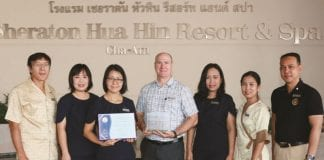 Sheraton Hua Hin Resort & Spa Maintains Unbroken Thailand Tourism Standard Status