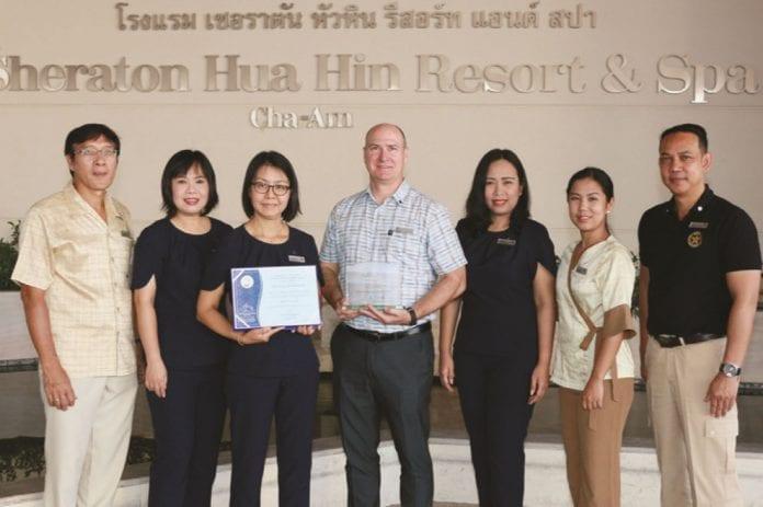 Sheraton Hua Hin Resort & Spa Maintains Unbroken Thailand Tourism Standard Status