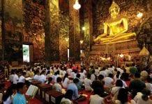 Visakha Bucha Day or Wan Pra Yai