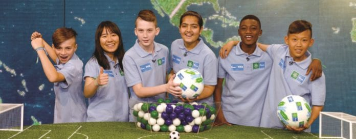 Young Thais Heading to 'Football for Friendship' in Moscow