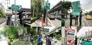 10,000 Illegal Signs Removed: Bangkok Governor