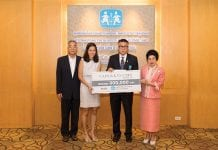 Cape & Kantary Hotels Donates 300,000 Baht to SOS Children's Villages Thailand