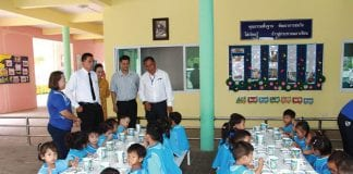 Checks on School Lunches in Hua Hun