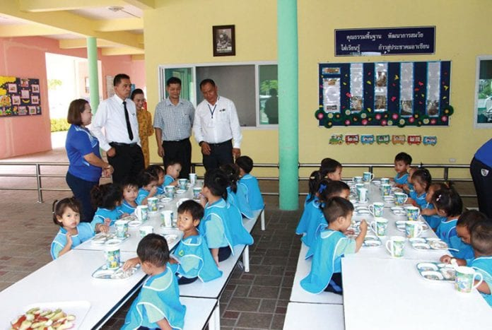 Checks on School Lunches in Hua Hun