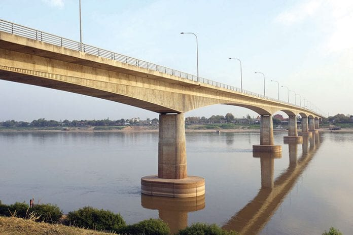 The Fifth Thai-Lao Friendship Bridge Planned