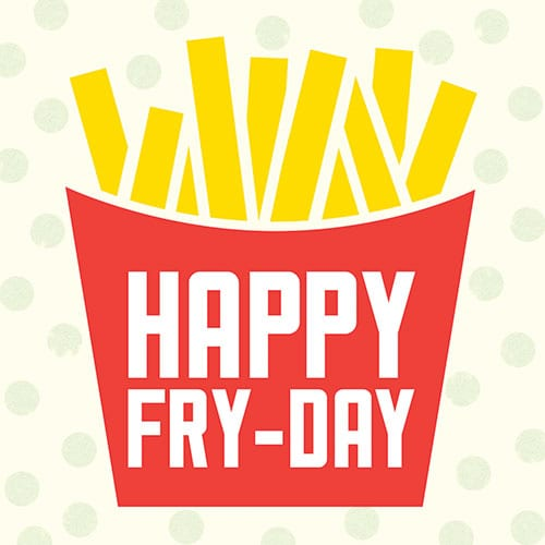 July 13th: National French Fries Day