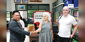 Honorary French Consul Makes Courtesy Call to Prachuap Khiri Khan