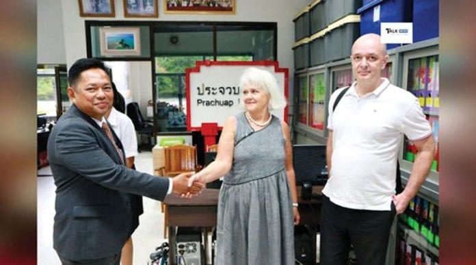 Honorary French Consul Makes Courtesy Call to Prachuap Khiri Khan