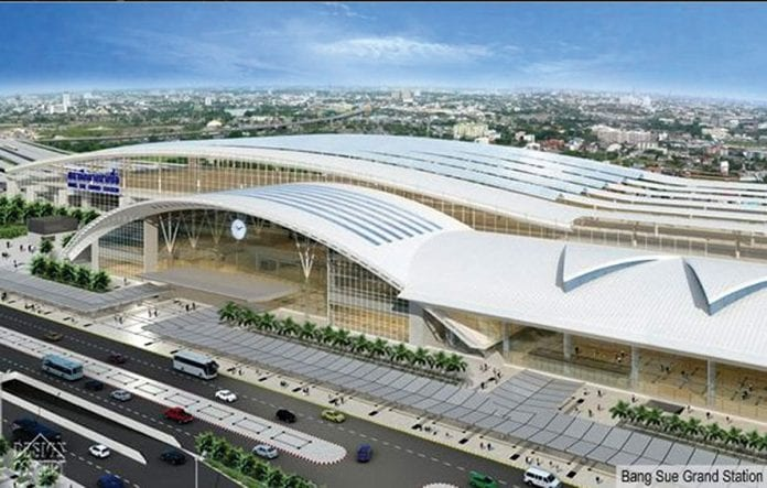 Largest Train Station in Southeast Asia to Open in Bangkok
