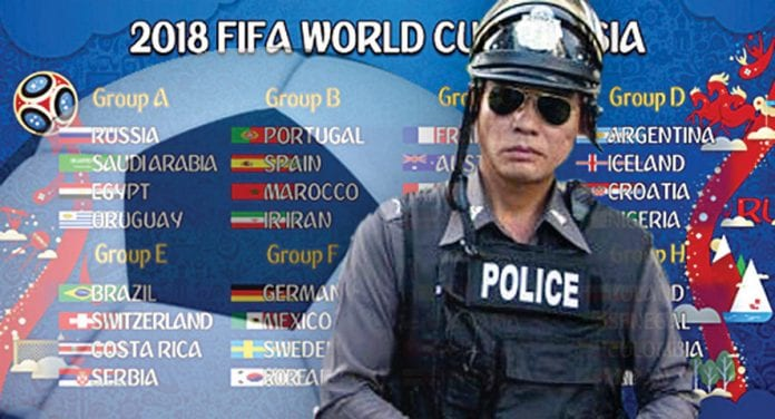 Nationwide Crackdown on World Cup Gambling