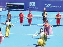 Opening Hua Hin's Summer Season of Tennis 2018