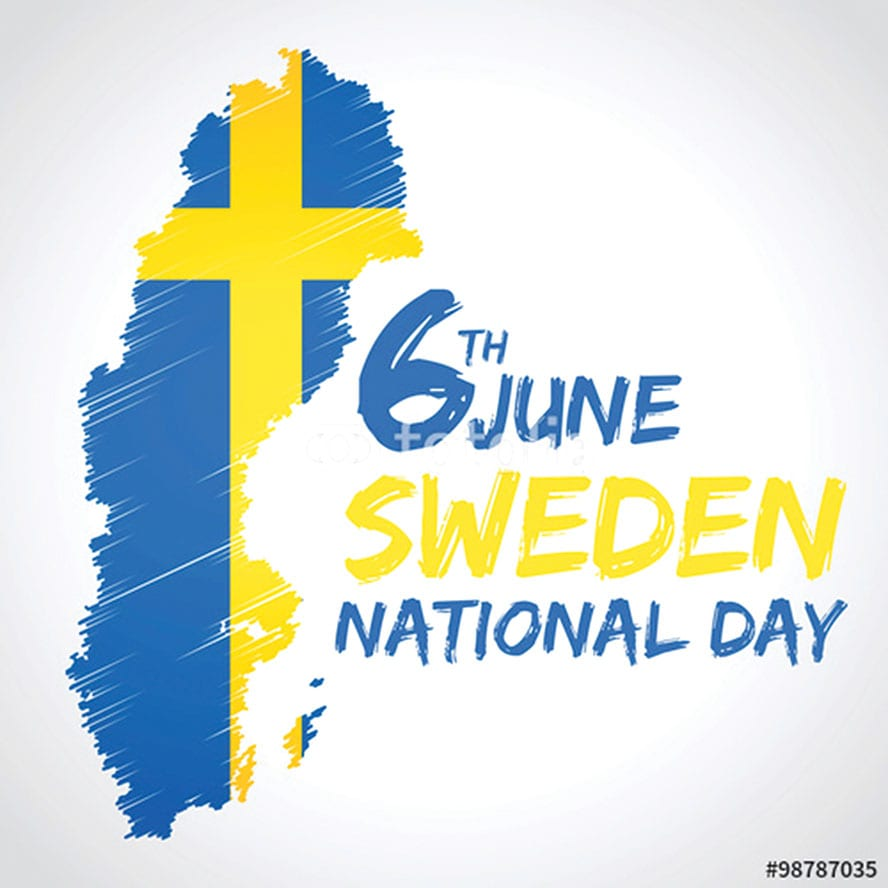 National Day of Sweden - June 6th