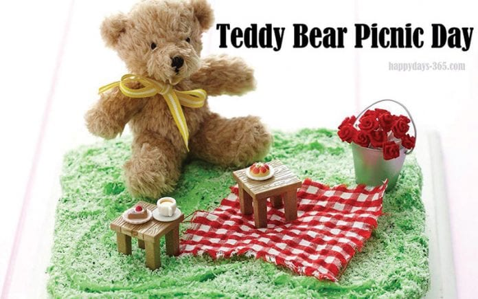 July 10th: Teddy Bear Picnic Day July 2018