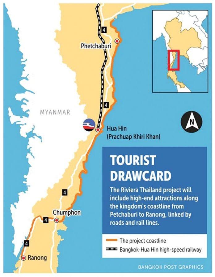 Go Riviera Sprint Train Route Proposed