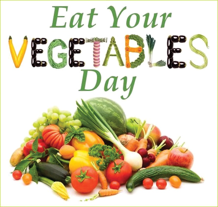 June 17th Eat Your Vegetables Day