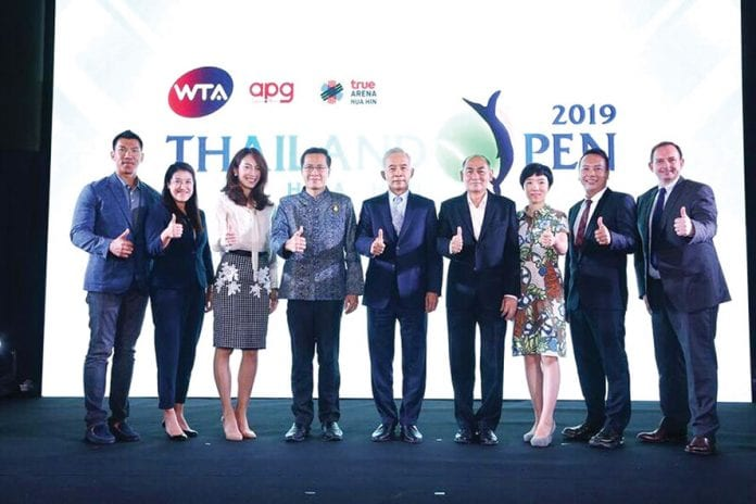 WTA Thailand Open Headed for Hua Hin in 2019