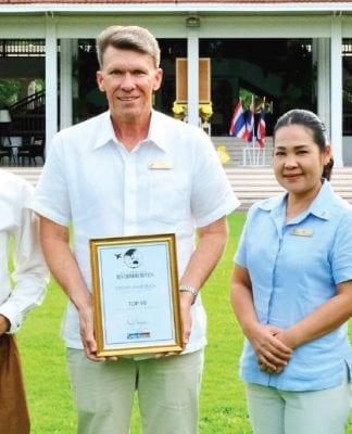 Top Luxury Hotel Award 2018 for Centara Hua Hin
