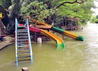 Over 30 Resorts Near Kaeng Krachan Dam Temporarily Closed by Flooding