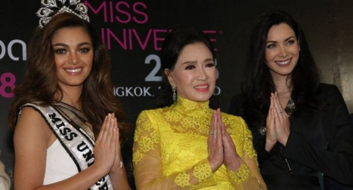 Miss Universe 2018 to be held in Thailand