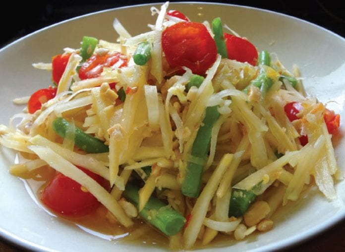 Som Tam Listed on the Top Ten Dishes of the Planet