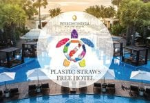 The Intercontinental Hua Hin Resort is Now Plastic Straw-free